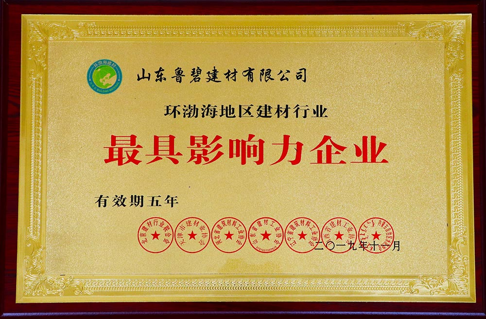 環渤海最具影響力企業